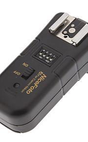NiceFoto C-16 3-i-1 2,4 GHz trådløs fjernbetjening flash udløser Single modtager til Canon DSLR