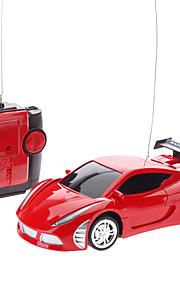 01:24 fjernbetjening Racing Car Model (tilfældig farve)