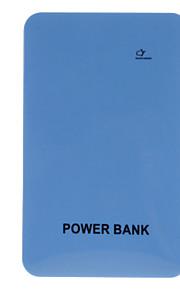 Banca portatile di potere Slim per i dispositivi mobili (10000mAh, arancione / giallo / blu / verde)