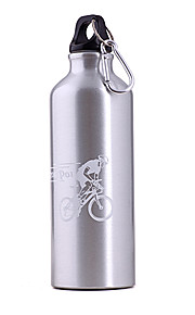 500ml Silver Aluminum Alloy Bicycle Bottle