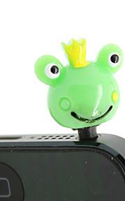 Muovi Frog Pattern Anti-pöly Plug