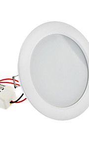 "4 ""8W 48x2835SMD 480-500LM 2700-3500K varm hvit lys LED Ceiling Bulb (110-240V)"