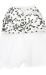 Cat / Dog Dress White Spring/Fall Sequins Wedding
