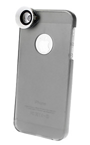 1.5X Macro Lens med Ultraslim Matte PC Hard Case för iPhone 5