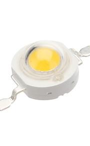 1W 90-100lm 2800-3100k LED varmt lys (3.3-3.5V)