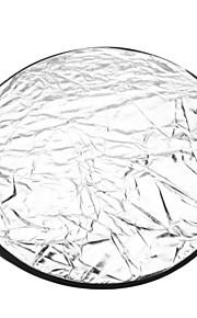 Round 5-em-1 Folding Grande do Flash refletor Board - 5 cores (56 centímetros de diâmetro)