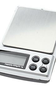 500g 0.1g Digital Diamond Pocket Jewelry Weigh Scale