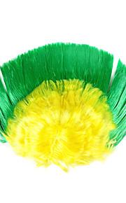 A peruca fãs da Copa do Mundo no Brasil