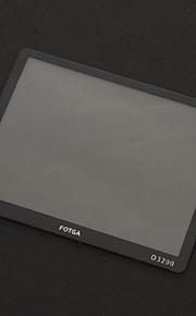 FOTGA Professional Optical Glass LCD Screen Protector til Nikon D3200 - Black + Transparent