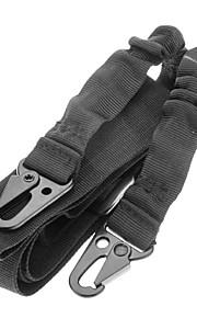Sports Outdoor Wearable Elastic Black Gun Rope