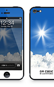 "Da Code ™ Skin voor iPhone 5/5S: ""Peaking Clouds"" (Nature Series)"