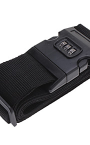 Durable Packing Belt with Password Lock (Black)