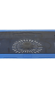 """N19 140mm Super Silent High Performance Laptop Cooling Fan (Up to 14"""" Inch)Blue"""