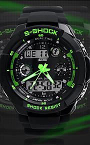 relógio relógio do esporte dual time calendário zonas cronógrafo dos homens