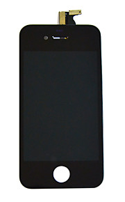 lcd skjerm touch screen digitizer for iPhone 4 CDMA (assorterte farger)