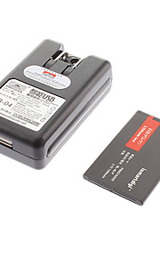 ismartdigi BL-4U-P 1200mAh Cell Phone Battery for Nokia 3120 classic 5530 XpressMusic 6600i with Charger
