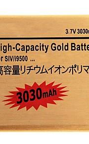 3.7V 3030mAh vervangende li-ion batterij voor Samsung S4 i9500/i9505