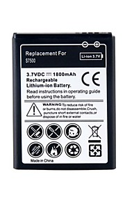 Vervanging van 3.7V 1800mAh li-ion batterij voor Samsung Galaxy Ace Plus S7500.