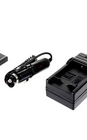 ismartdigi-Pana DMW-BCG10 895mAh, 3.6V camera batterij + autolader voor Panasonic ZS1 ZS5 ZS7 TZ7 ZR1