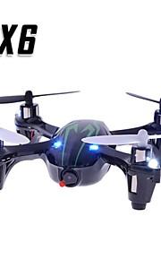 X6 2.4G 4CH RC Quadcopter autotransportor Kamera og lys i Green
