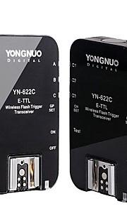 YONGNUO YN-622C sem fio E-TTL flash gatilho para Canon / Max 1/8000s Velocidade de Sincronização - Preto