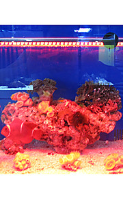 29cm Red Energispar Ekstremt sterkt LED Aquarium Lett Fishbowl Dykking Lights