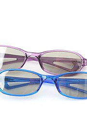 M&K Polarized Light Patterned Retarder Passive Childern's 3D Glasses for RealD Imax Cinema (4Pcs)