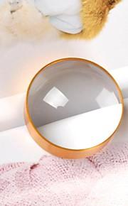 60 milímetros de metal dourado 6x mão close-up lente de aumento para a prensagem de papel e documento