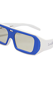 Le-Vision Polarized Light Side by Side 3D Glasses for Cinema and TV