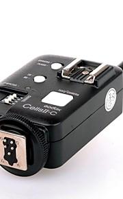 godox celler ii enkelt høj hastighed&trådløs flash studio strobe udløse transceiver / fjernbetjening udløserknappen til Canon