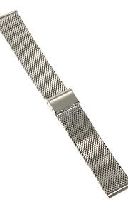 Masculino / Feminino Pulseiras de Relógio Aço Inoxidável #(0.047) #(16.5 x 2.2 x 0.3)