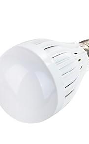 youoklight® e27 5W 10 * smd5730 400lm varm / kjølig hvitt lys ledet globe pærer (ac85 ~ 265V)