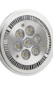GU10 7 W 7 Høyeffekts-LED 770LM LM Kjølig hvit AR Dimbar Spotlys AC 220-240/AC 110-130 V