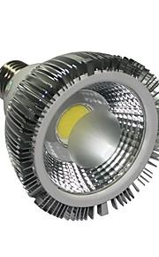 E26/E27 10 W 1 COB 1100LM LM Varm hvit/Kjølig hvit Dimbar Parlamper AC 110-130 V