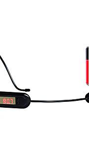 micrófono inalámbrico con cargador y cable de carga para eaching guía