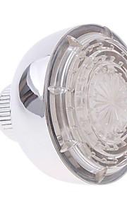 hjem bad vann drevet LED Dusj lys vann sprinkleranlegg gløde tre farger (rød / grønn / blå) valgfri