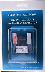protetor de tela LCD profissional de vidro óptico especial para câmera DSLR pentex kx