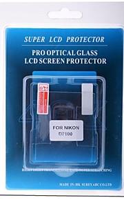 professionel LCD-skærm protektor optisk glas specielt til Nikon D7100 DSLR-kamera