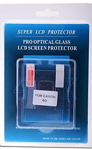 professionel LCD-skærm protektor optisk glas specielt til Canon 6d dslr kamera