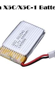 3.7V 680mah drone quadrokopter batteri til SYMA x5c x5c-1 x5sc x5sw cheerson cx30w cx30s