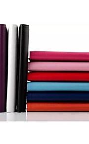 hoge kwaliteit pu leer 360 graden rotatie tablet case met standaard voor 8 inch (verschillende kleuren)