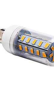 e14 / e27 / G9 7w 36x5730smd 700lm hvit / varm / kjølig hvitt lys ledet mais bulb (220-240V)