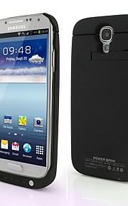 TXJ 3200 mah caso di batteria della copertura della banca di potere di backup per Samsung i9500 s4 SIV
