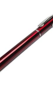 universele capacitieve scherm stylus pen met een led pointer voor mobiele telefoons&tabletten
