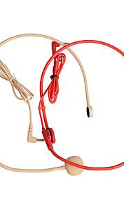 Headset-Mikrofon für Guider rot, gelb