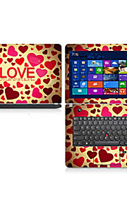"Love Pattern Laptop Protective Skin Sticker For 14"" Laptop"