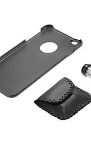 Lente del microscopio 60x con il nero posteriore del pc per il iphone 6 più