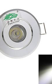 Zweihnde 1 W 1 DIP-LED 90 LM Naturlig hvit Innfelt retropassform Dekorativ Taklys AC 85-265 V