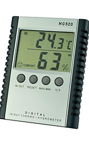 HC520 Temperature And Humidity Meter Household Electronic Hygrometer Temperature