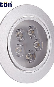 6W Taklys 5 Høyeffekts-LED 430 lm Varm hvit Dekorativ AC 85-265 V